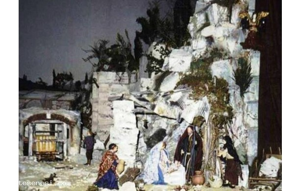 Presepe anno 2002 - Cava di travertino